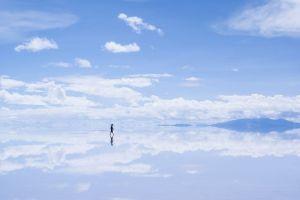 Salar De Uyuni atau Uyuni Salt Flat, cermin alami terbesar di dunia