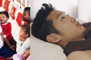 Potret pasangan interasial bersama 7 anaknya, sangat menginspirasi