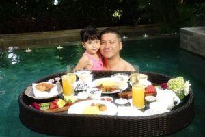 10 Potret liburan Gempi dan Papa Gading di Bali, romantis abis