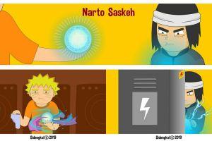 Begini jadinya jika 7 karakter anime Naruto hidup di negara +62