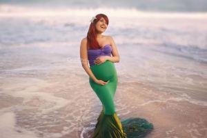 Fotografer ini ubah ibu hamil jadi 5 karakter putri Disney
