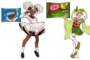 Gini jadinya kalau 10 makanan ringan dijadikan karakter kartun, keren!