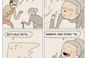 10 Komik plesetan legenda Malin Kundang ini bikin tertawa renyah