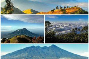 4 Gunung ini punya ciri khas yang bikin pendaki selalu rindu