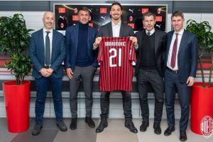 Pilih nomor punggung 21, Ibrahimovic resmi kembali ke Milan