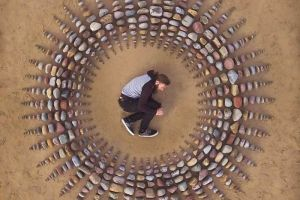 Menakjubkan, 10 karya seni kreatif ini polanya disusun dari batu