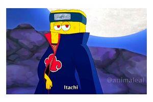 10 Potret Akatsuki tandingan versi Spongebob, ngakak abis