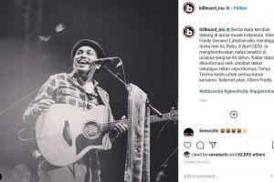 Musisi Indonesia Glenn Fredly meninggal dunia pada usia 44 tahun