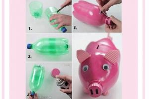 7 Ide kreasi dari botol plastik, mudah & seru dibuat bersama anak-anak