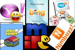 8 Aplikasi chatting ini populer pada zamannya, pernah pakai yang mana?