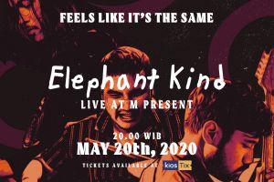 Elephant Kind bakal gelar konser virtual Feels Like It's The Same