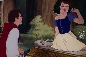Bukannya anggun, 9 ekspresi putri Disney ini justru bikin ngakak