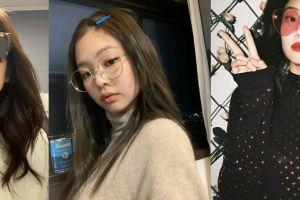 10 Gaya kece Jennie Blackpink saat pakai kacamata, fashionista banget