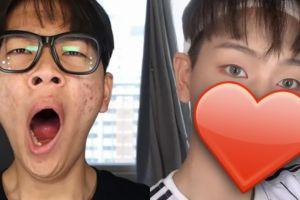 Mahir pakai make up, pria ini ubah penampilan jadi setampan idol Korea