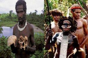 Tradisi seram Suku Fore di Papua Nugini: Makan otak dan daging manusia