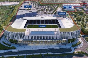 Intip desain Fossetts Farm Stadium, bakal stadion baru di Liga Inggris