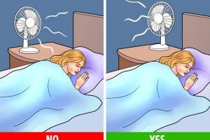 Ini dampak buruk tidur dengan kipas angin menyala dan solusinya
