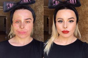 6 Perubahan wanita sebelum dan sesudah make up, sama-sama menawan