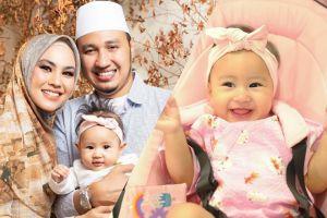7 Potret menggemaskan Khalisa, putri Kartika Putri dan Habib Usman