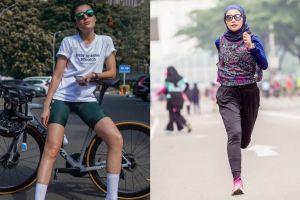 Tampil segar dan bugar, 9 seleb wanita Tanah Air ini hobi olahraga