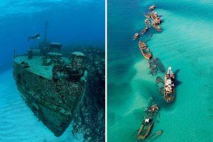 Lama terlupakan, ini 4 potret kapal tenggelam yang ada di dunia