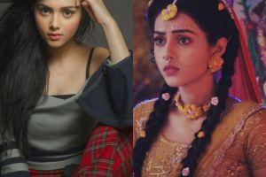 8 Pesona Mallika Singh, pemeran Dewi Radha dalam serial Radha Krishna