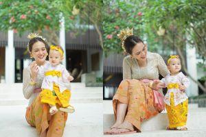 Menepi sementara di Bali, ini 8 potret family time ala Shandy Aulia