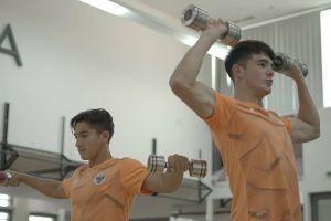 5 Potret Jack Brown bintang timnas U-19 saat berolahraga, body goals