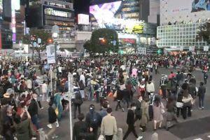 Warga Jepang rayakan Halloween di tengah pandemi Covid-19