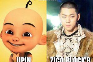 Gini jadinya kalau 15 idol K-Pop perankan karakter dalam Upin Ipin