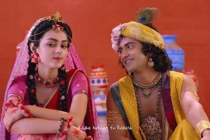 Banyak digemari, ini 7 momen mesra tokoh utama serial Radha Krishna