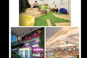 Desain 5 kantor start up Indonesia ini keren banget, bikin betah