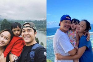 7 Potret keluarga Malvino Fajaro dan istri, bahagia & jauh dari gosip