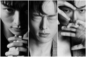 10 Potret Jang Ki Yong yang bernuansa hitam putih, estetis abis