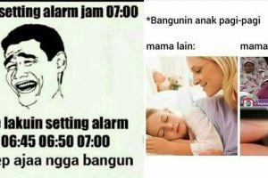 10 Meme lucu ini menggambarkan tingkah orang yang susah bangun pagi