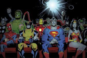 Siapa yang akan mendominasi tema multiverse di film superheroes?