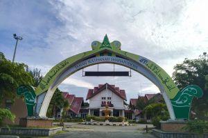 Sensasi joging 'mengelilingi Aceh' di Taman Ratu Safiatuddin