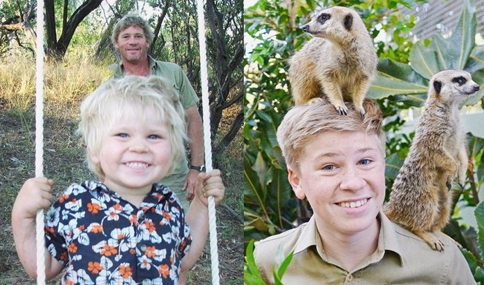 Robert Irwin Putra Mendiang Steve Irwin Yang Peduli Satwa