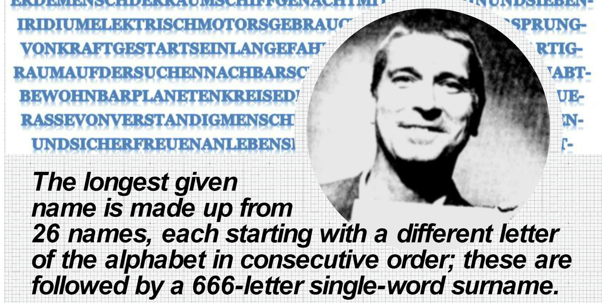 Nama 5 orang ini terpanjang di dunia, ada yang lebih 200 karakter