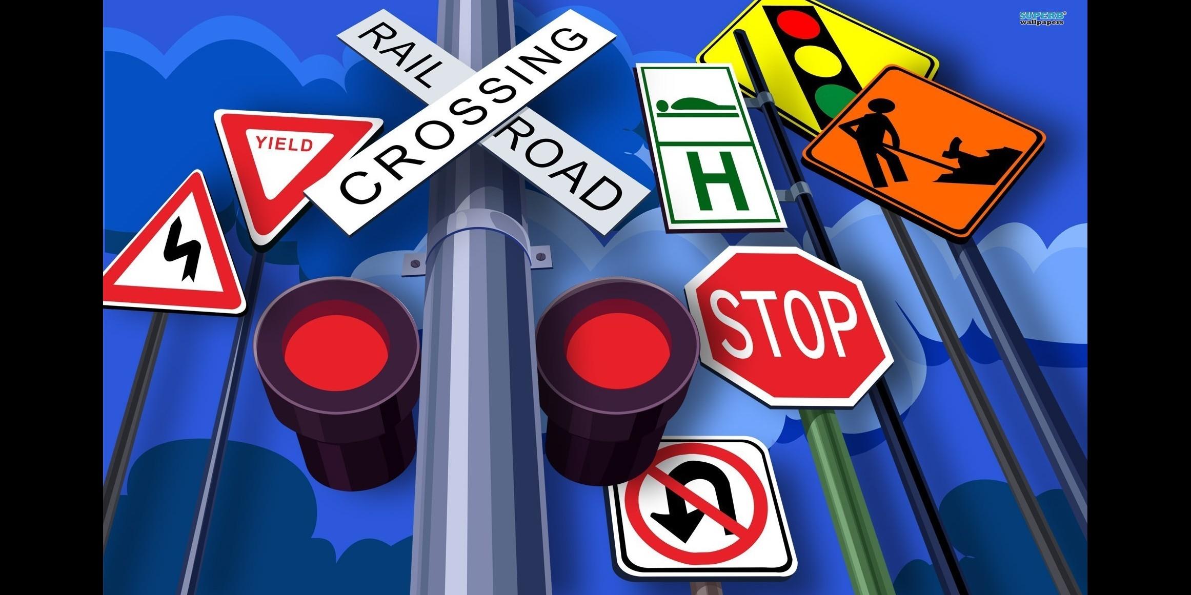 Kamu harus tahu, ini ternyata arti 5 warna rambu lalu lintas