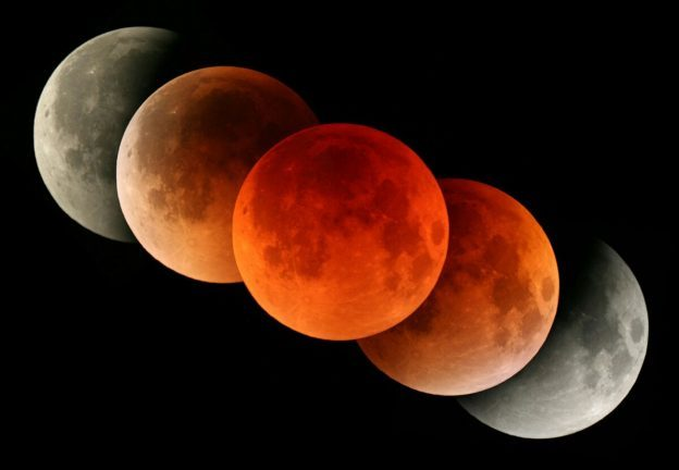 Ini daerah di Tanah Air yang tak bisa menikmati Super Blue Blood Moon