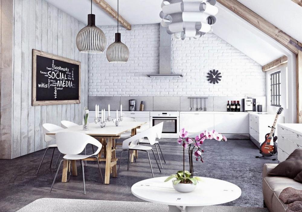 14 Inspirasi desain dapur kece layaknya di kafe