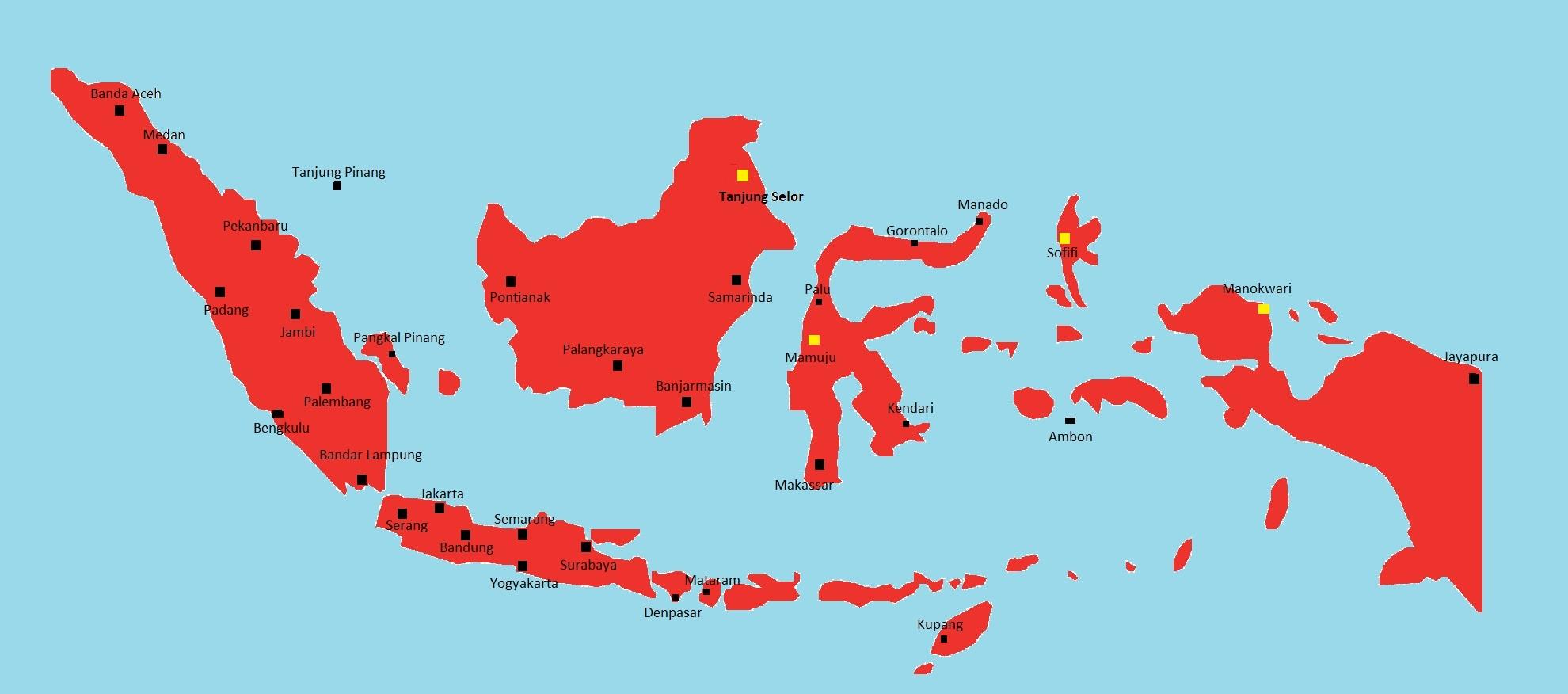4 Ibu Kota Provinsi Di Indonesia Ini Ternyata Tak Punya Wali Kota