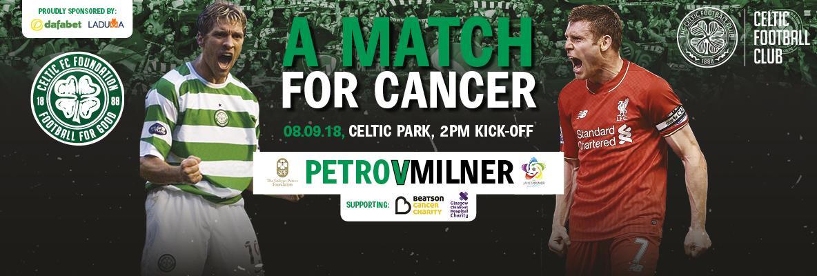 Nantikan laga amal untuk kanker antara tim Petrov vs tim Milner