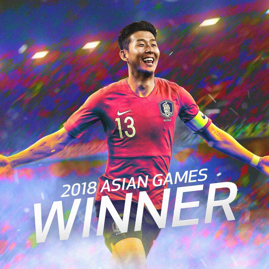 Son Heung-Min bisa hindari wajib militer berkat Emas Asian Games 2018