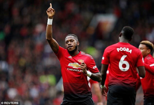Fred menjadi pemain ke 500 yang mencetak gol untuk Manchester United c83e703a1e