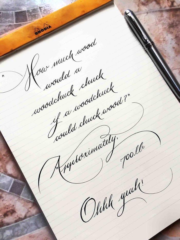 10 Tulisan Tangan Cantik Ini Bikin Iri Yang Melihat Rapi
