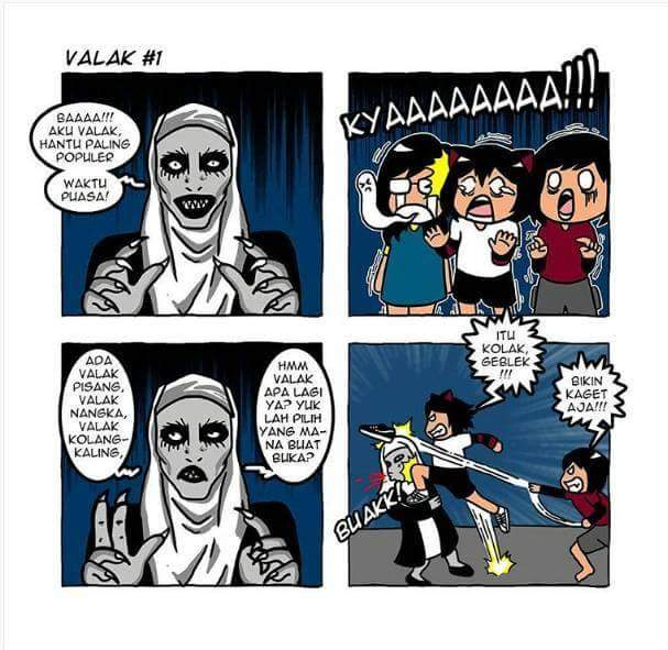 11 Komik Lucu Tentang Hantu Ini Bakal Bikin Kamu Gak Ketakutan La
