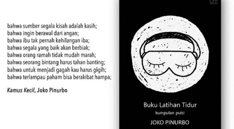7 Kutipan puisi Joko Pinurbo ini bisa membuatmu tetap semangat