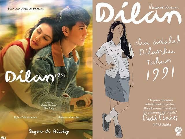 Telah tayang perdana, ini 5 fakta menarik mengenai film Dilan 1991
